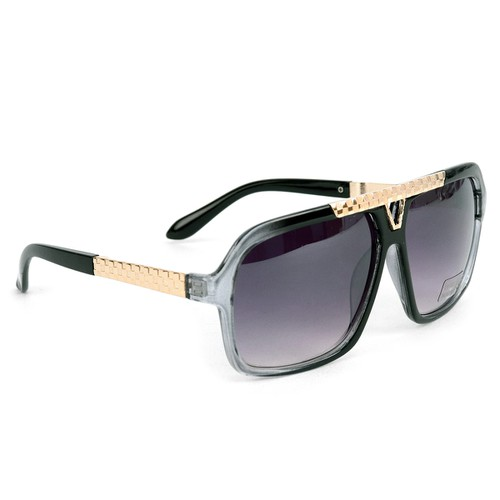Black Rectangular Sunglasses  - orangeshine.com