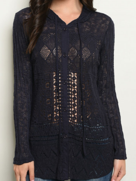 Lace Blouse - orangeshine.com