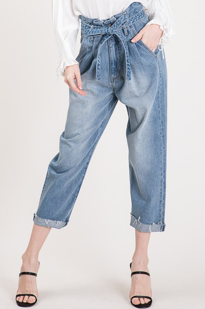 PAPER DENIM PANTS - orangeshine.com