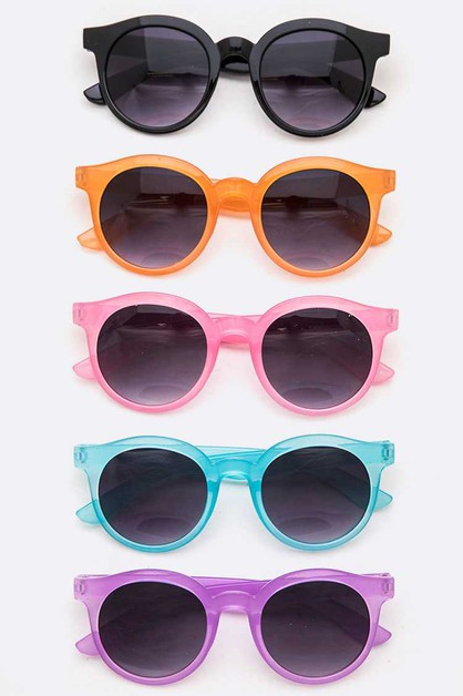 Kids Round Sunglasses Set - orangeshine.com