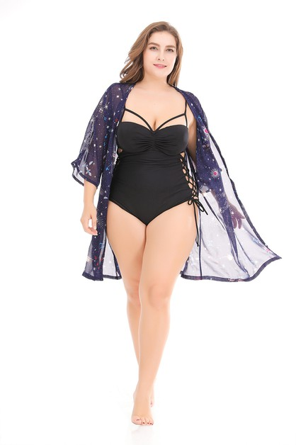 Summer Beach Plus Size Cover-Ups - orangeshine.com