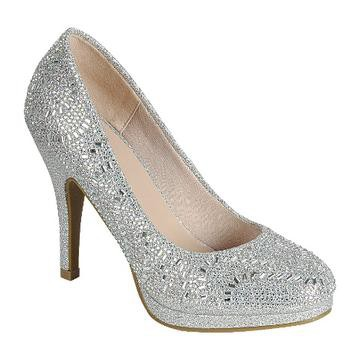 Glitter Dress Pumps Prom Shoes - orangeshine.com