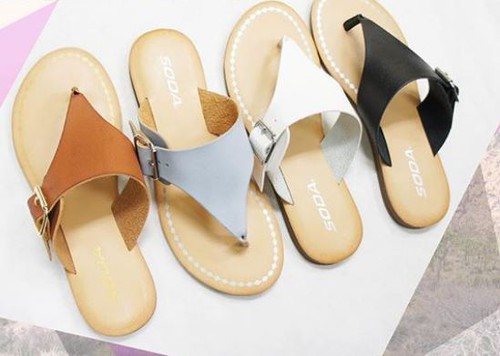 2 COLORS SANDALS - orangeshine.com