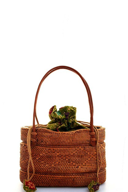 NATURAL FIBER WOVEN TOTE BAG - orangeshine.com