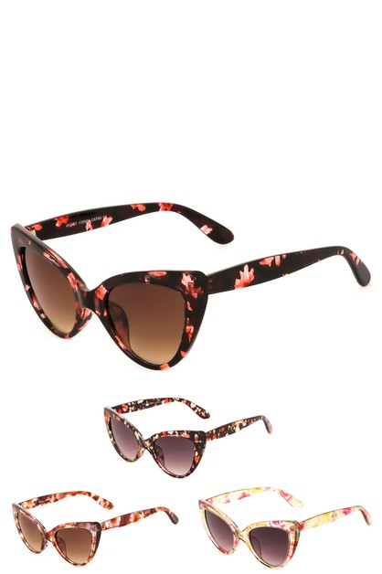 Tortoise Cat Eye Sunglasses - orangeshine.com