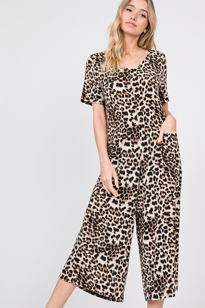 ANIMAL JUMPSUIT WITH POCKETS - orangeshine.com