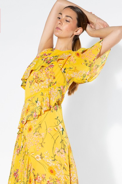 Asymmetric Summer Dress - orangeshine.com