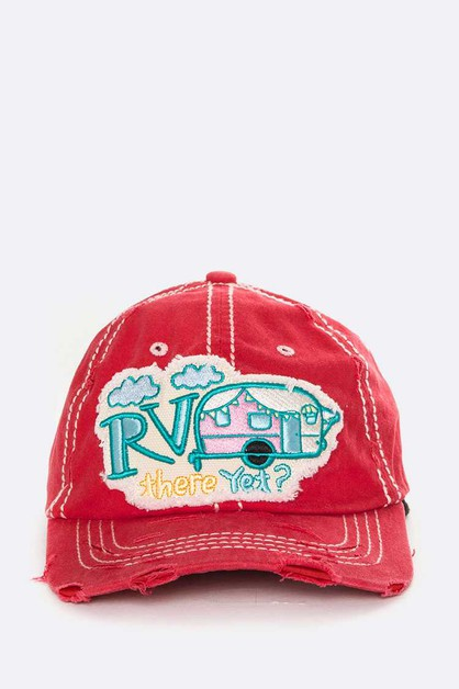 RV There Yet Iconic Embroidered Cott - orangeshine.com