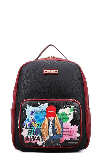 Nicole Lee Nikky FASHION BACKPACK - orangeshine.com