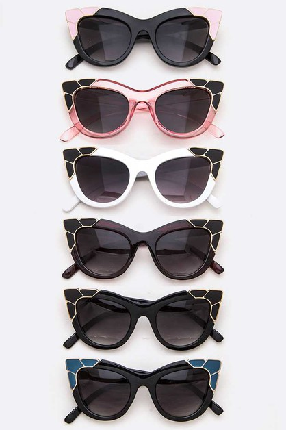 Iconic Cat Eye Sunglasses Set - orangeshine.com
