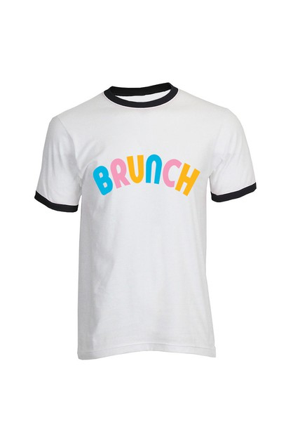 BRUNCH RINGER TEE - orangeshine.com