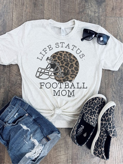 Life Status Football Mom - orangeshine.com