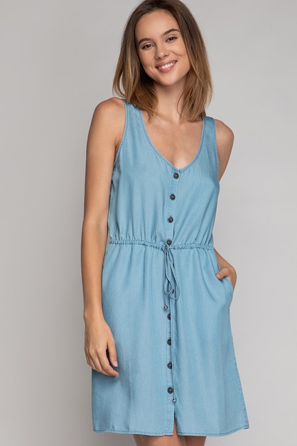 TANK MINI FLARE DRESS - orangeshine.com