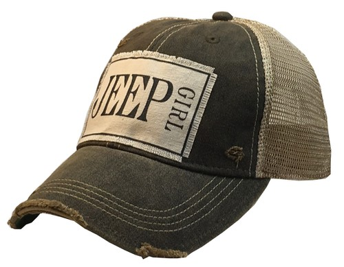 Jeep Girl Trucker Hat - orangeshine.com