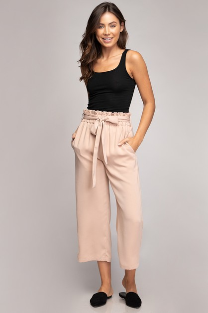 CAPRI STRAIGHT PANTS - orangeshine.com