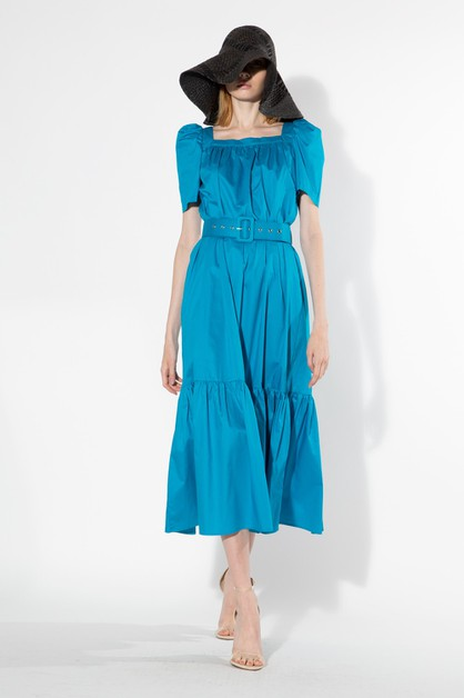 Summer Cotton Dress - orangeshine.com