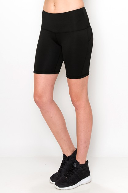 High waist work out shorts  - orangeshine.com