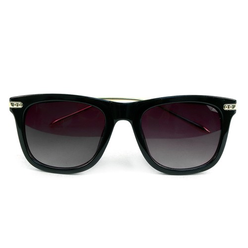 Black Rectangle Sunglasses - orangeshine.com