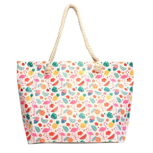 Tropical Summer Ladies Tote Bags - orangeshine.com