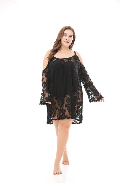 Women Plus Size Beach Cover - Ups - orangeshine.com