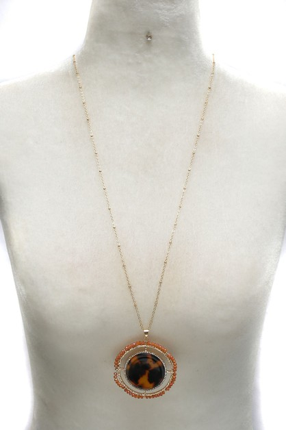 METALBEAD PENDANT NECKLACE SET  - orangeshine.com