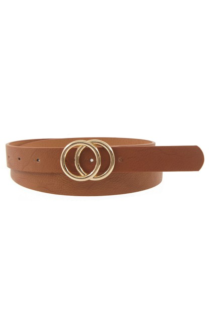 Double Circle Belt - orangeshine.com