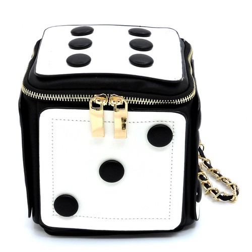Fashion Dice Wristlet Crossbody Bag - orangeshine.com
