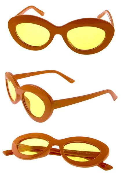 Womens cat eye plastic fashion  - orangeshine.com