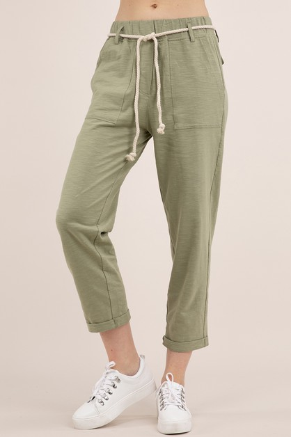 BAMBOO COTTON PANTS WITH 4 POCKETS - orangeshine.com