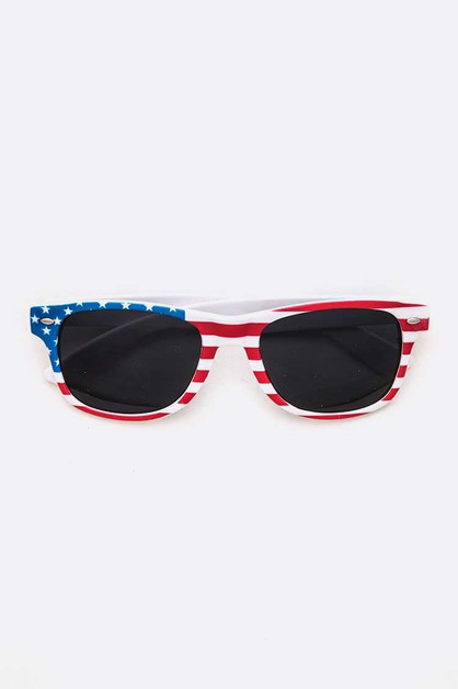 Kids American Flag Sunglasses Set - orangeshine.com