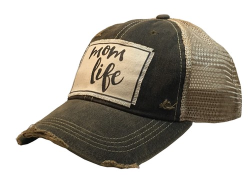 Mom Life Trucker Cap - orangeshine.com