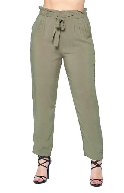 Super Light Weight Rayon Pants Plus - orangeshine.com