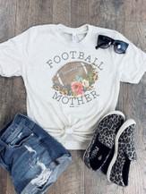 Football Mother Graphic Tee - orangeshine.com