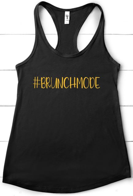 Brunchmode Tank  - orangeshine.com