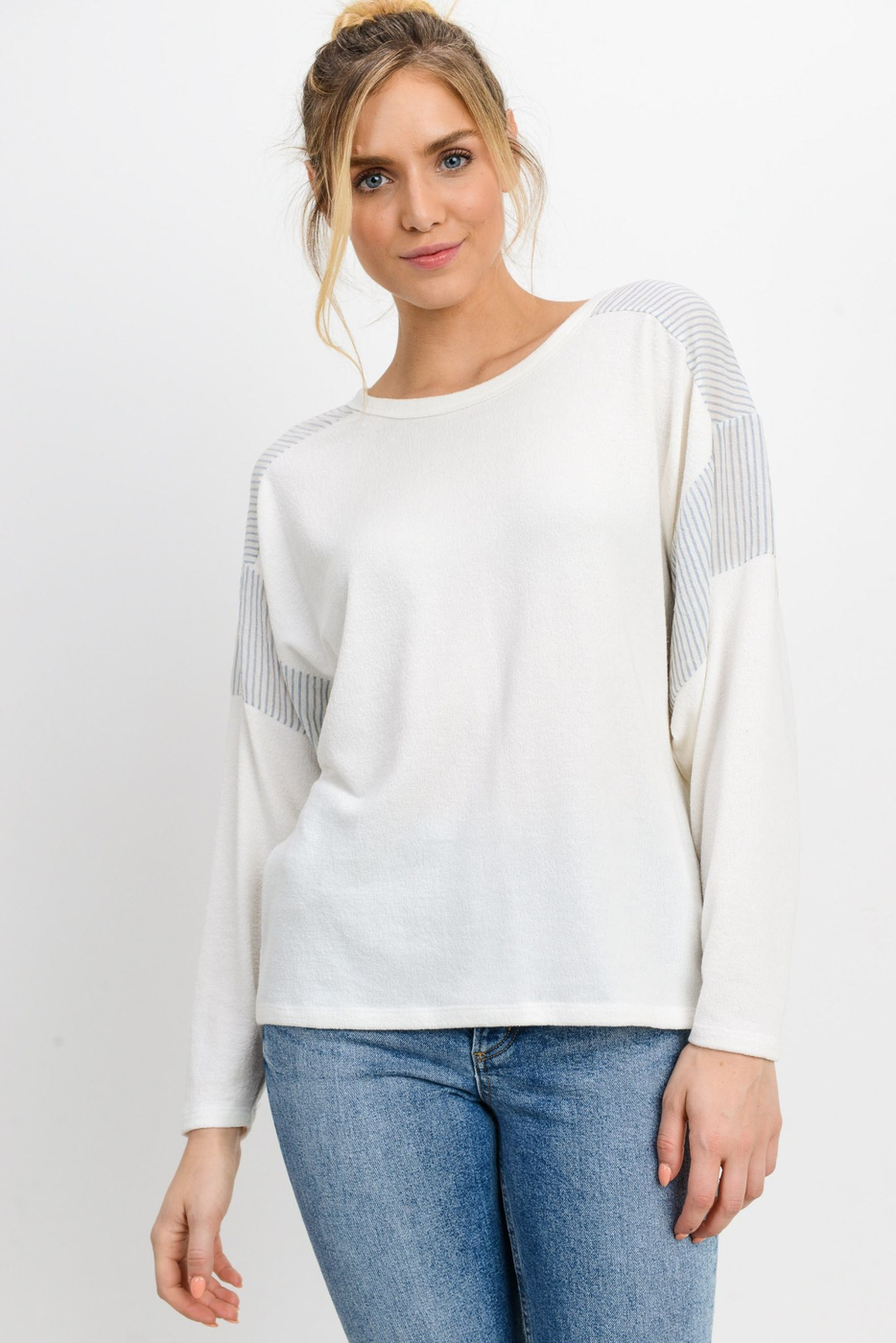 Loop Jersey Dolman Top - orangeshine.com