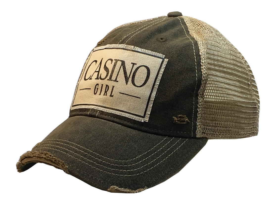 Casino Girl Trucker Hat - orangeshine.com