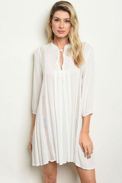 IVORY DRESS - orangeshine.com