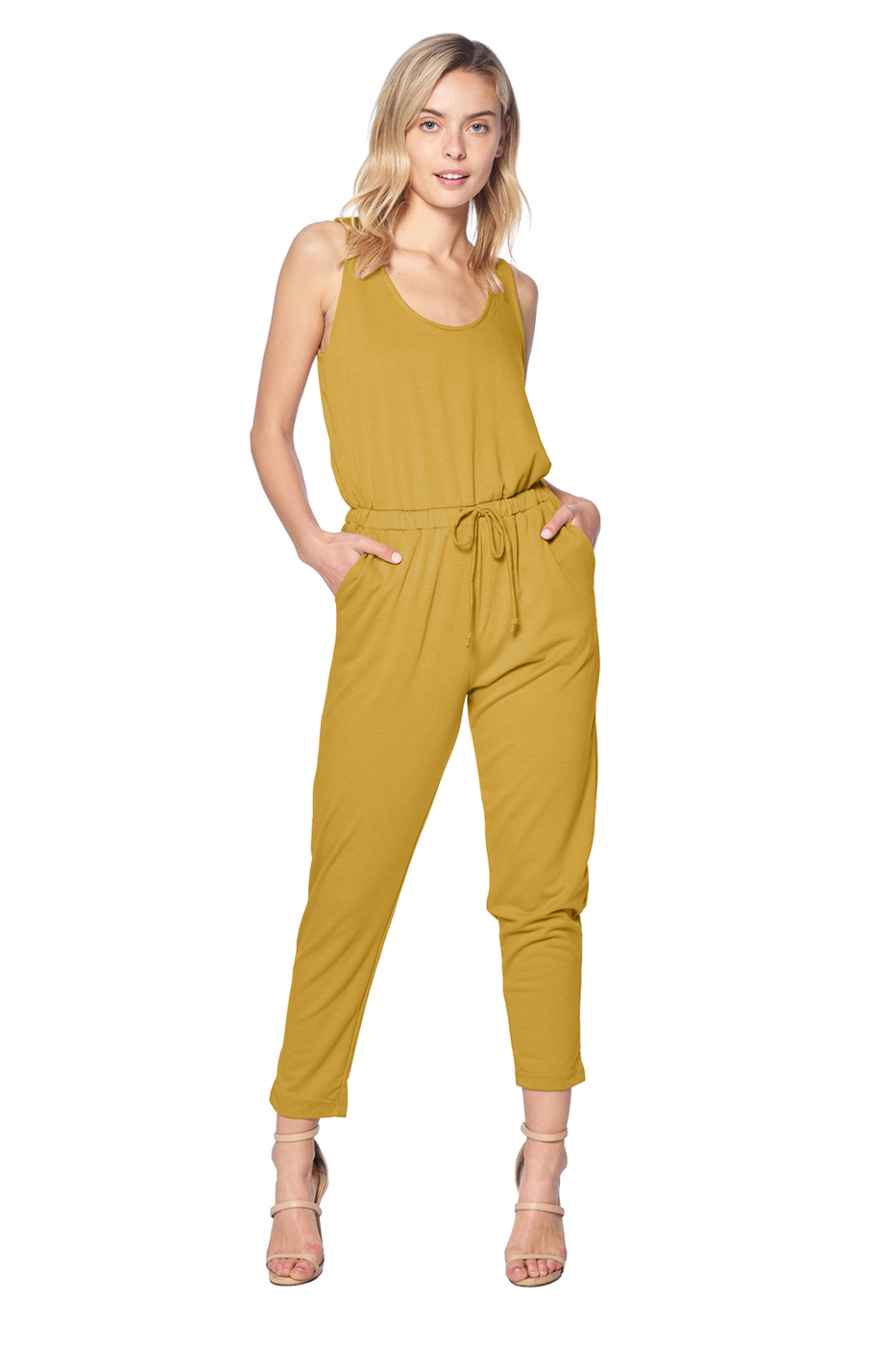 JUMPSUIT SLEEVELESS  - orangeshine.com