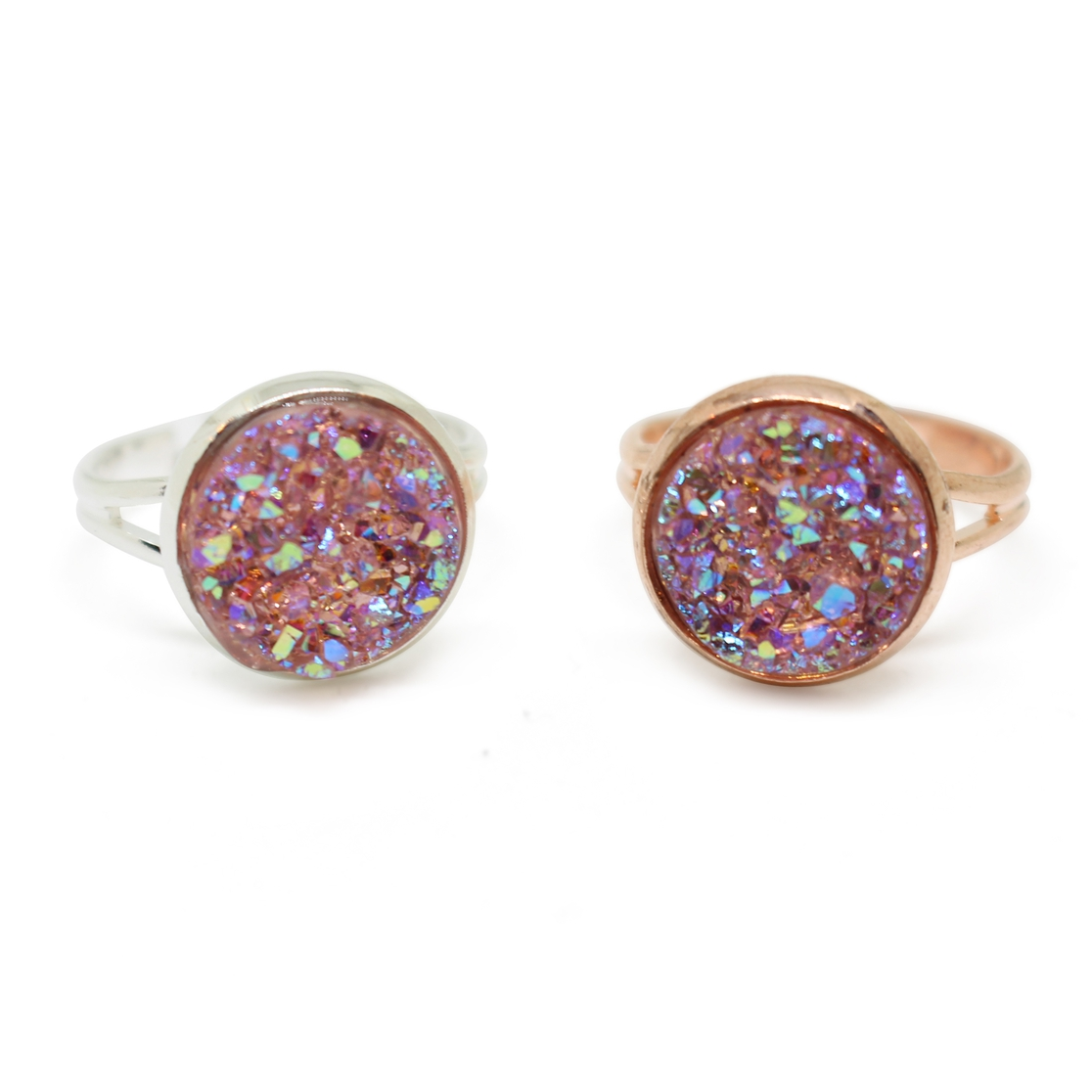 Druzy ring - orangeshine.com