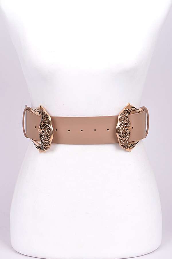 Double Buckle Belt - orangeshine.com