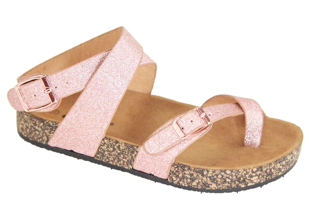 Kids Comfort Ankle Strap Sandals - orangeshine.com