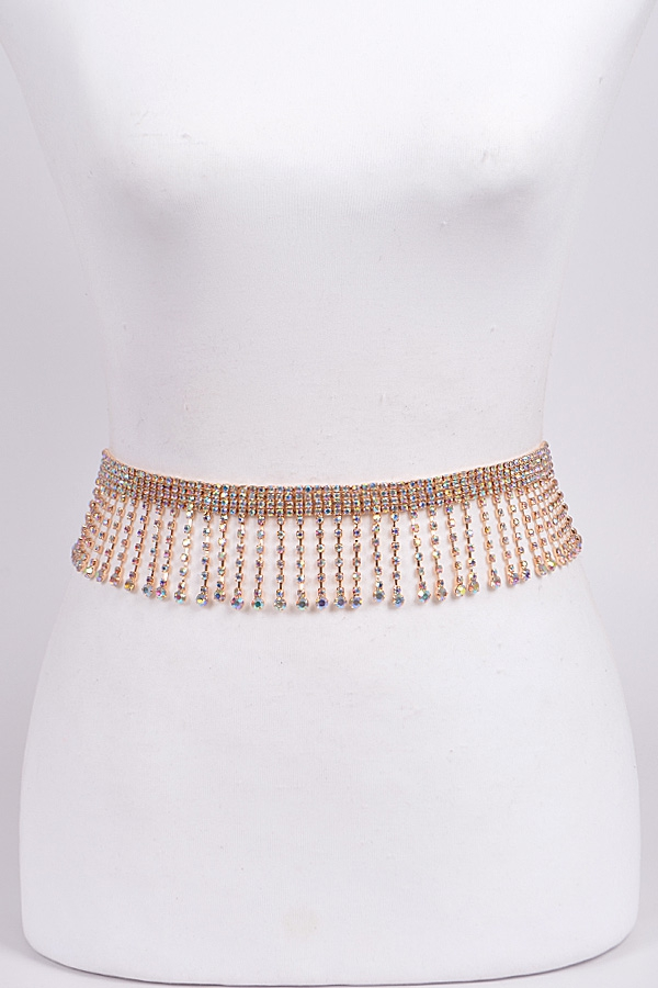 Iridescent Jewel Belt - orangeshine.com