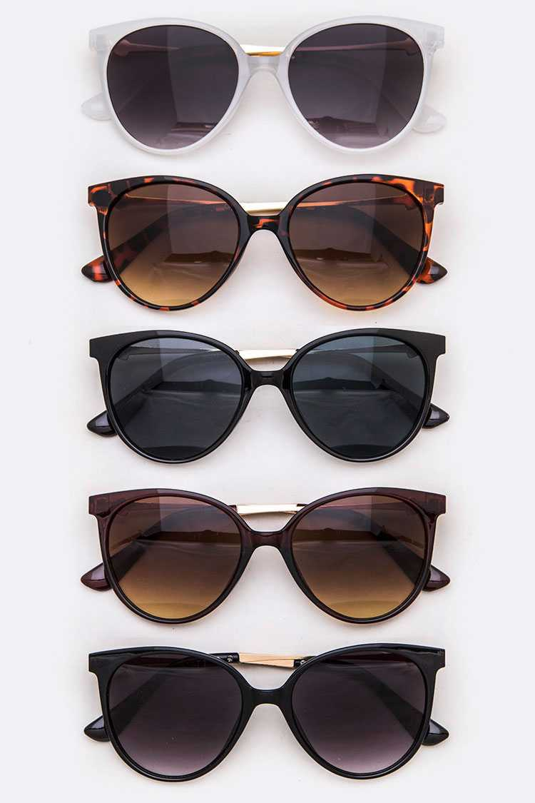 Acetate Round Sunglasses SEt - orangeshine.com