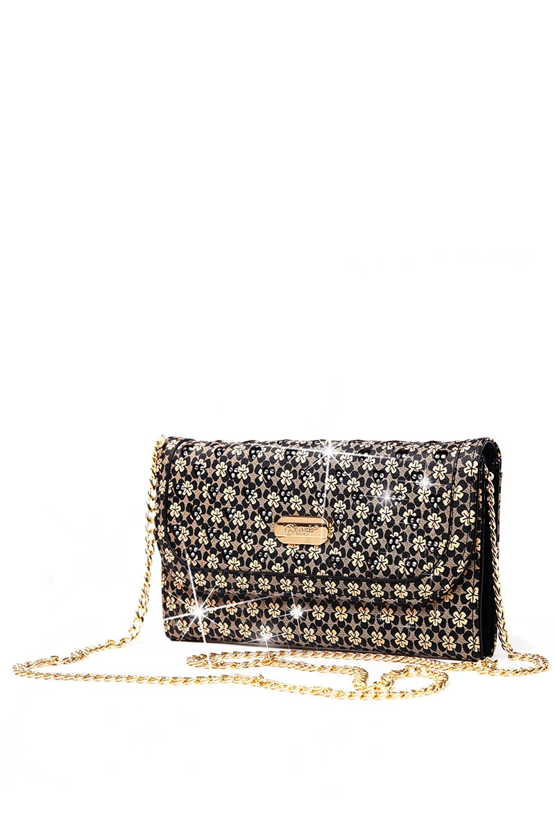 Twinkle Star Crystal Wallet Clutch - orangeshine.com