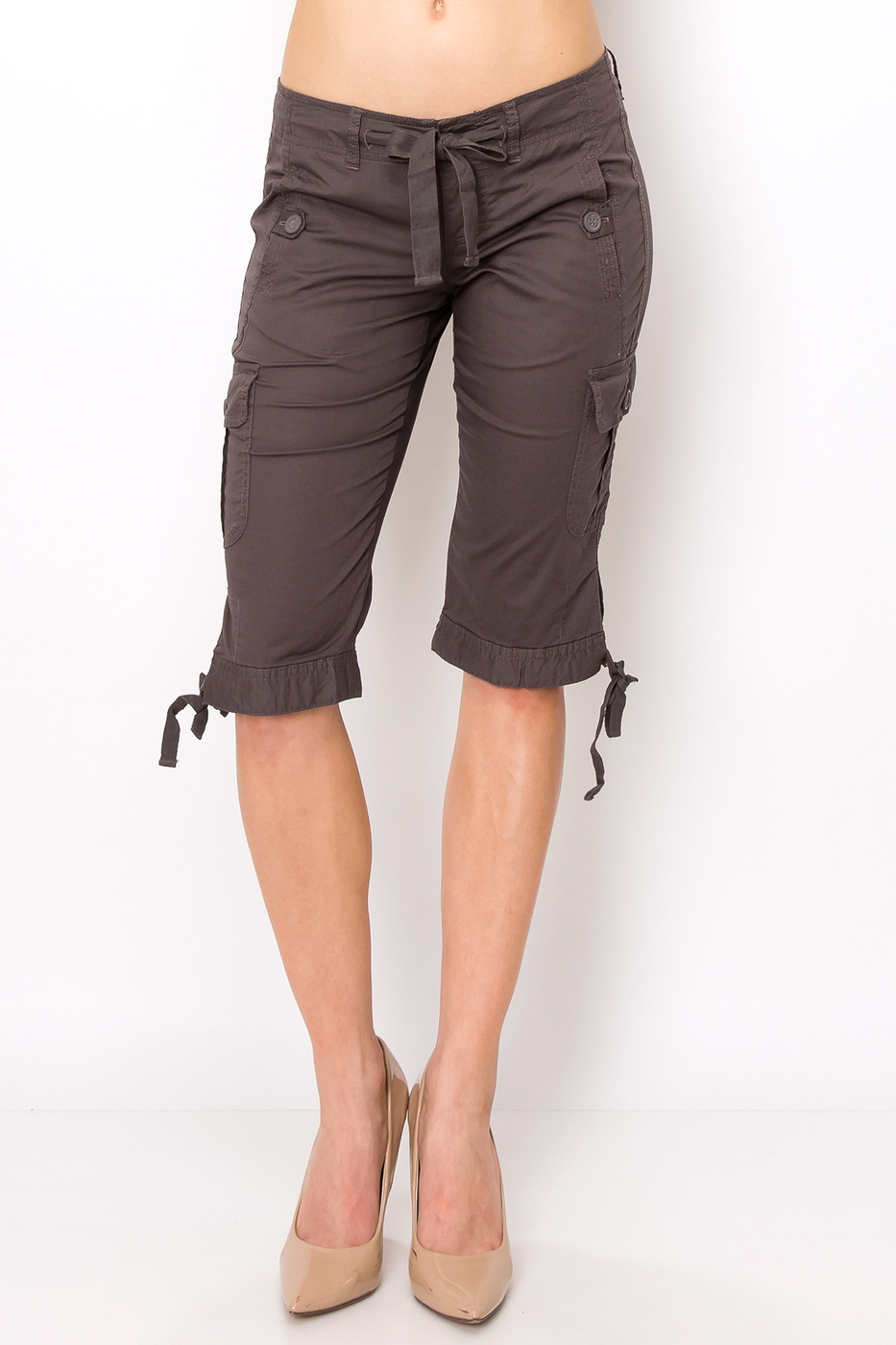 Casual cargo short pants - orangeshine.com