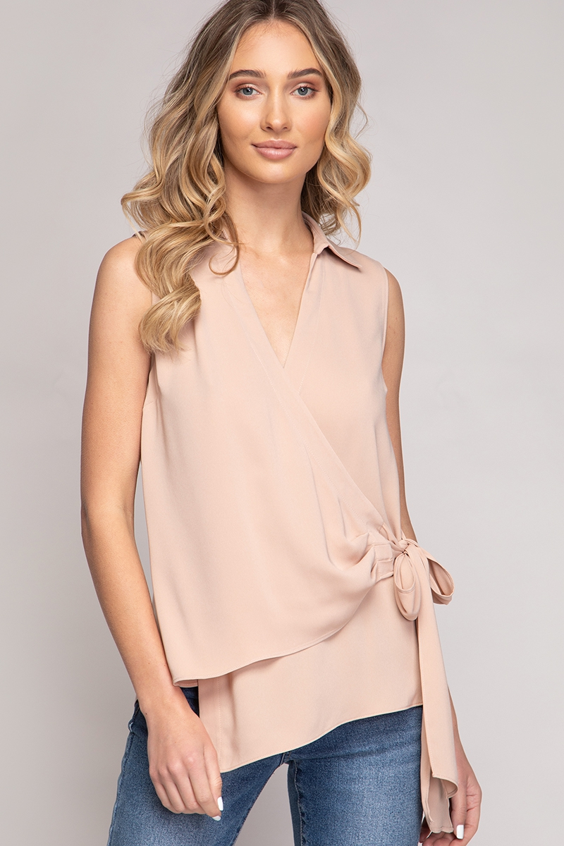 ASYMMETRIC HEM LOOSE TOP - orangeshine.com