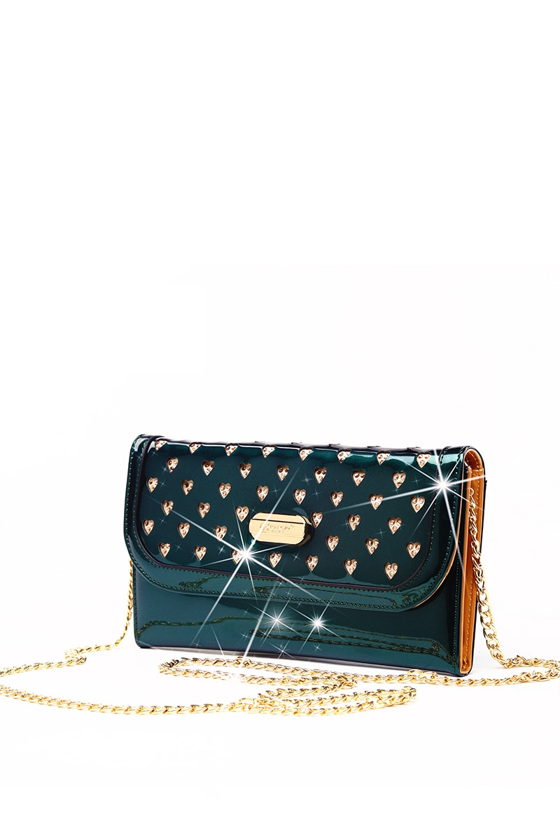 Galaxy Star Crystal Wallet Clutch - orangeshine.com
