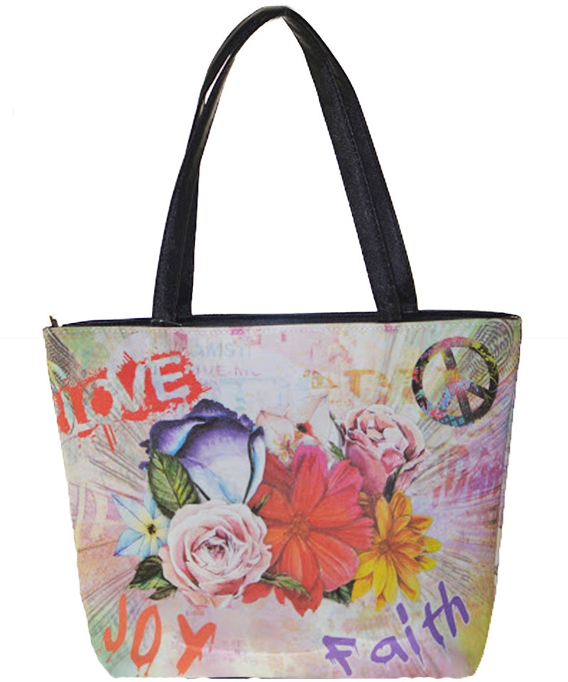 Happy Shopper Tote Bag - orangeshine.com