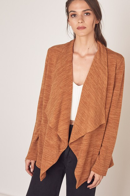 COLLAR CARDIGAN - orangeshine.com