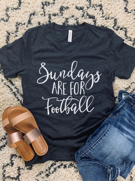 Sundays are for Football Graphic Tee - orangeshine.com